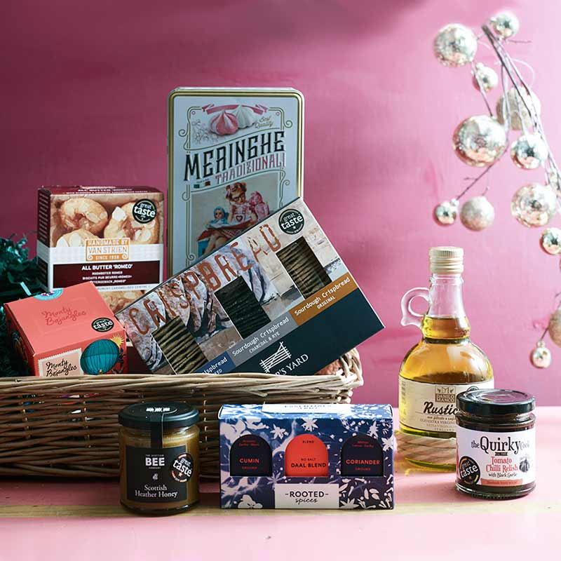 Christmas Hamper with a mix of products