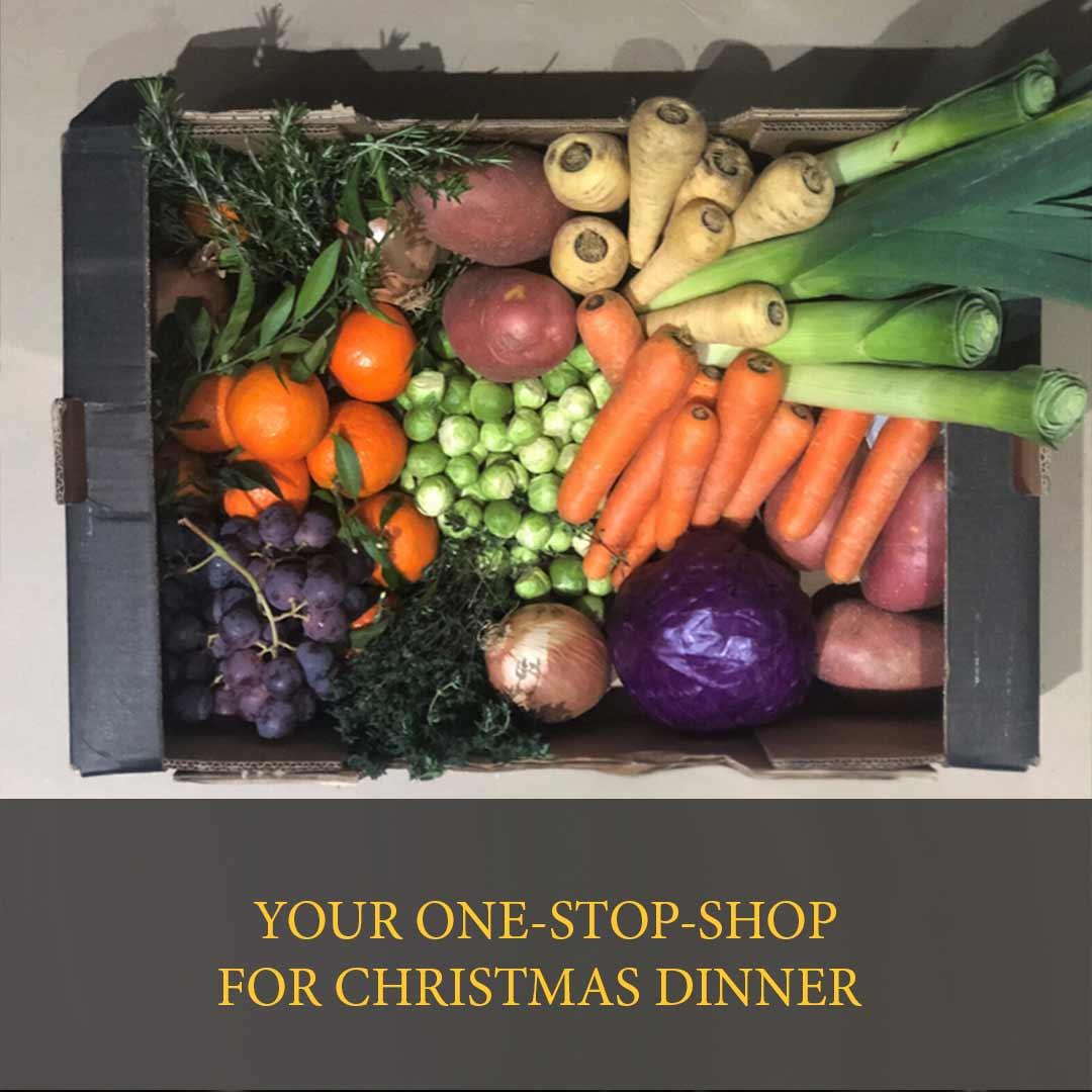 Christmas veg box